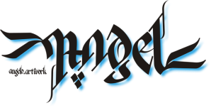 Ambigram AngelDevil